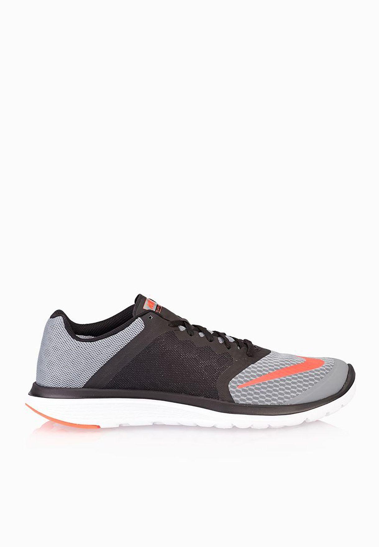 new style 72146 dcb26 Shop Nike grey Fs Lite Run 3 807144-002 for Men in UAE - NI727SH51QMM