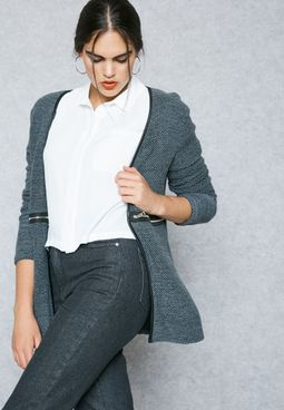 Zip Pocket Cardigan