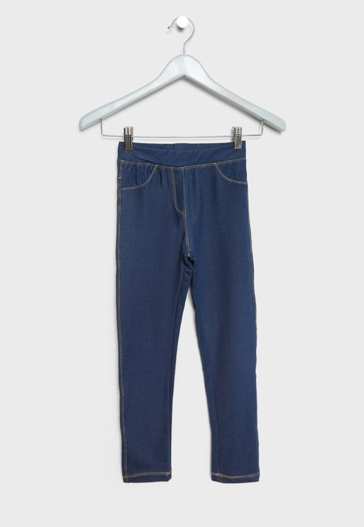 Kids Ritim Denim Leggings