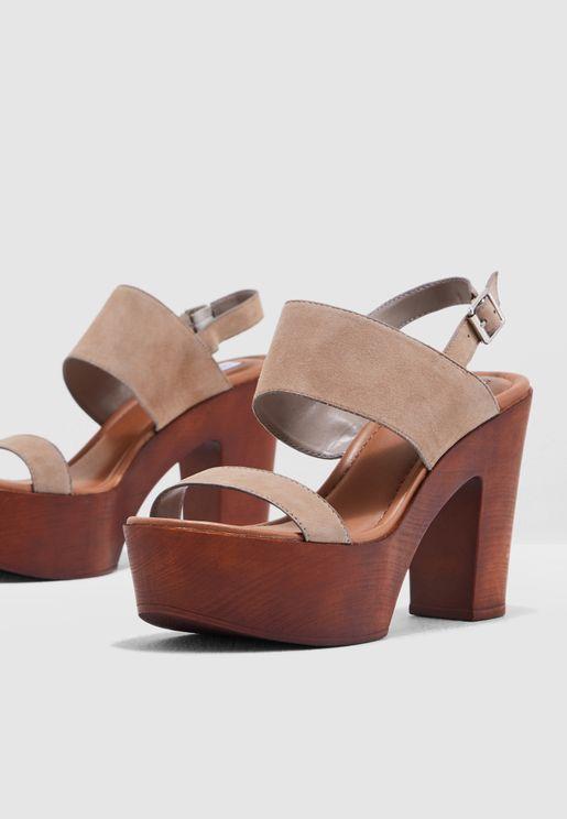 Lucky Platform Sandal