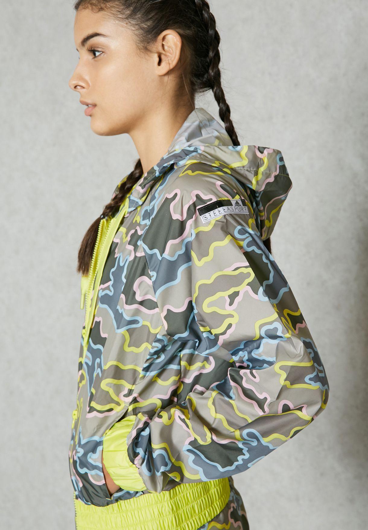 83b51b94fa Shop adidas Stellasport prints Zip Camo Jacket AZ7754 for Women in UAE -  AD895AT51EZG