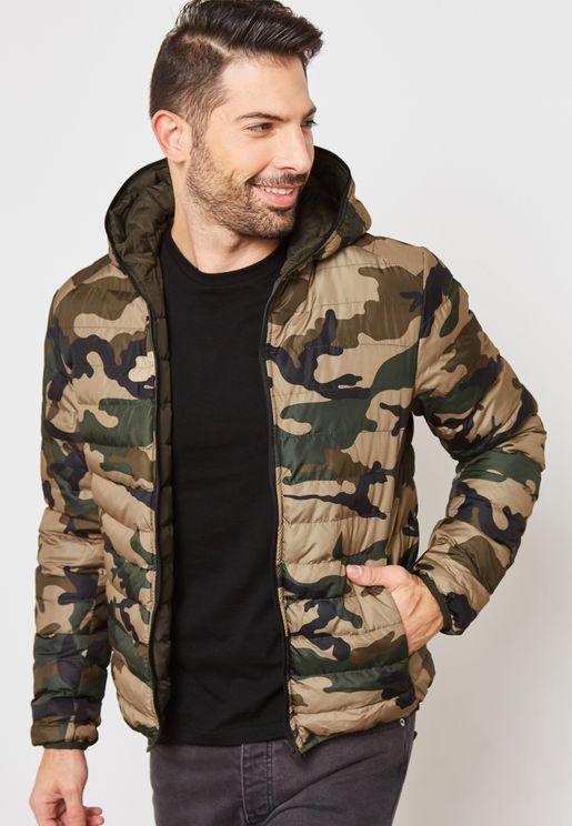 Chasin Reversible Hoddied Jacket