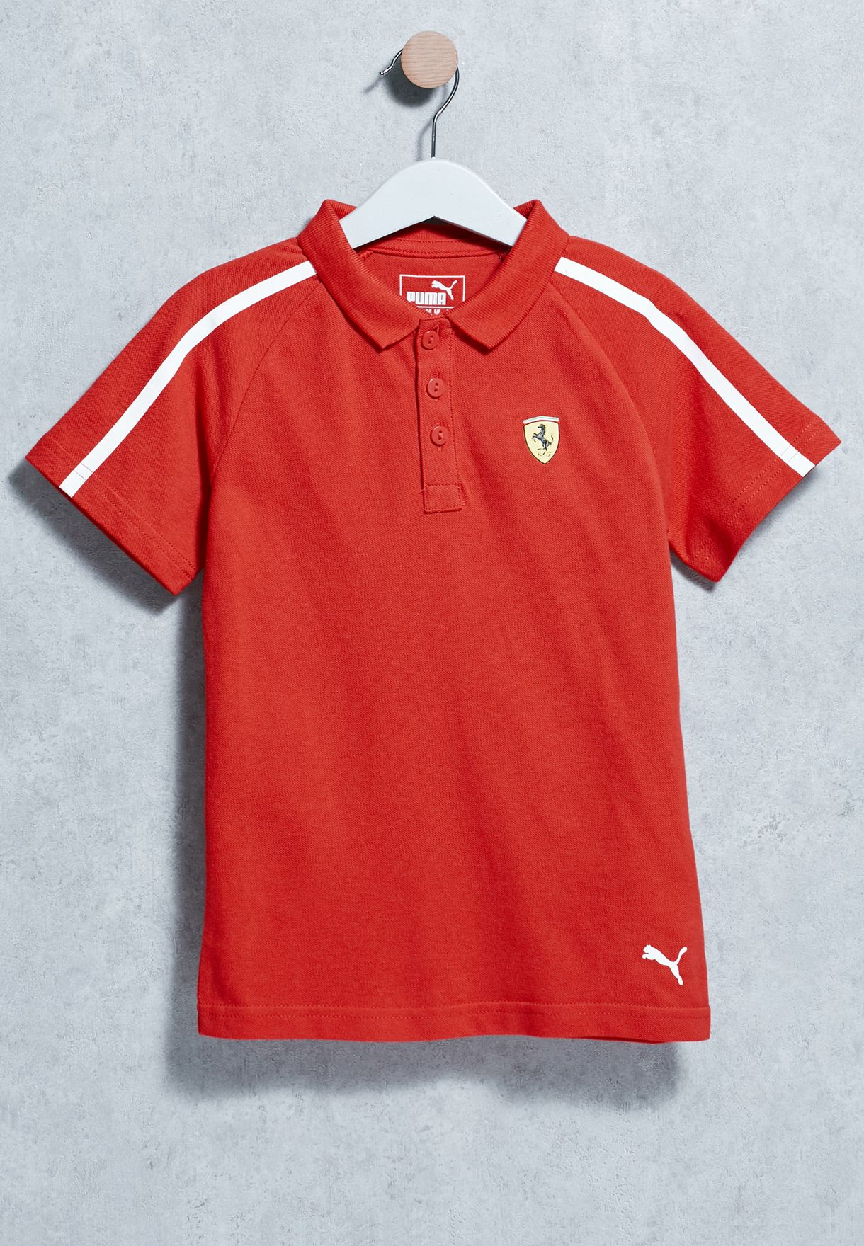 Shop PUMA red Kids Ferrari Polo 76210901 for Kids in Kuwait - PU020AT51WCM cf0912bae
