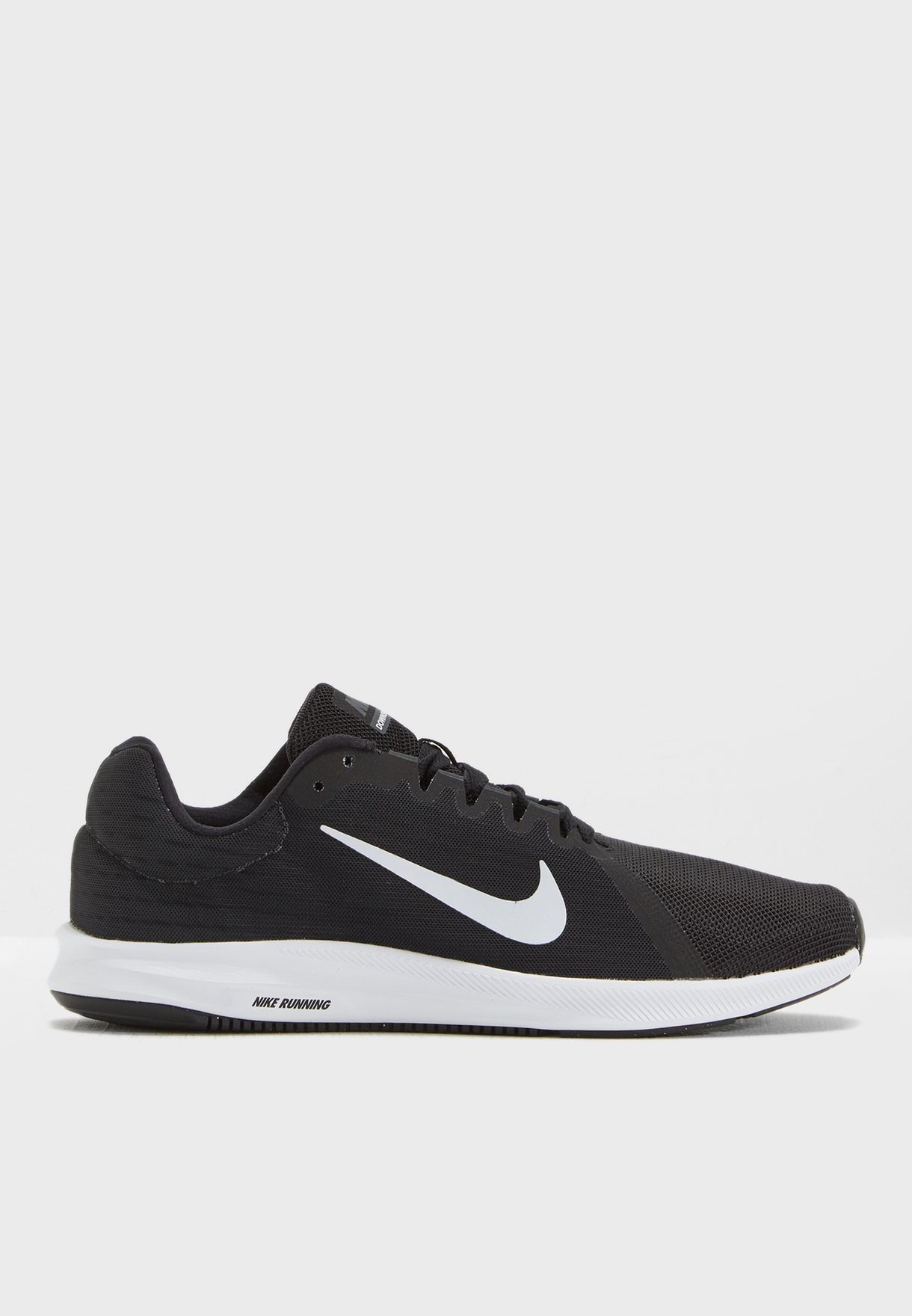 finest selection ba3a3 83ac7 Shop Nike black Downshifter 8 908984-001 for Men in Saudi - NI727SH51JZS