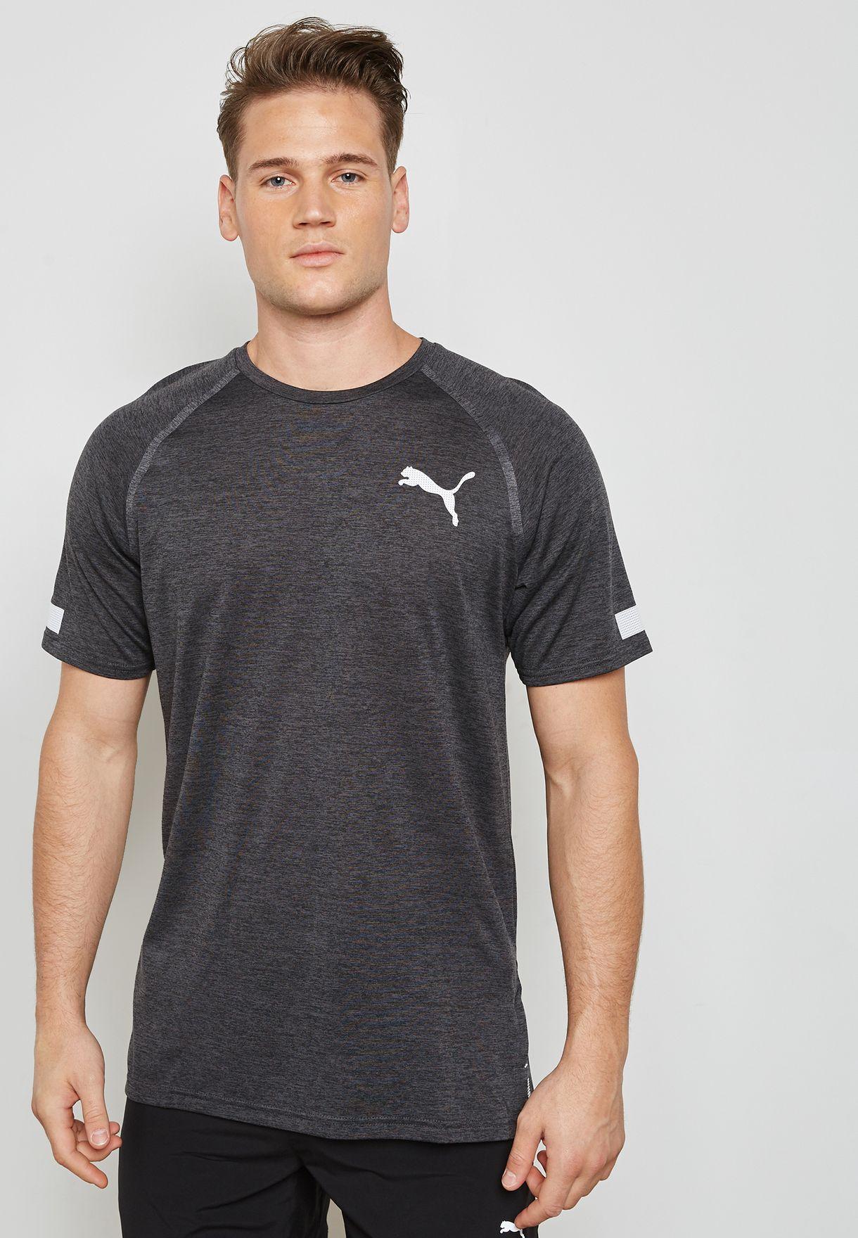 93dd5d3c4a50 Shop PUMA grey Bonded Tech T-Shirt 51633501 for Men in UAE ...