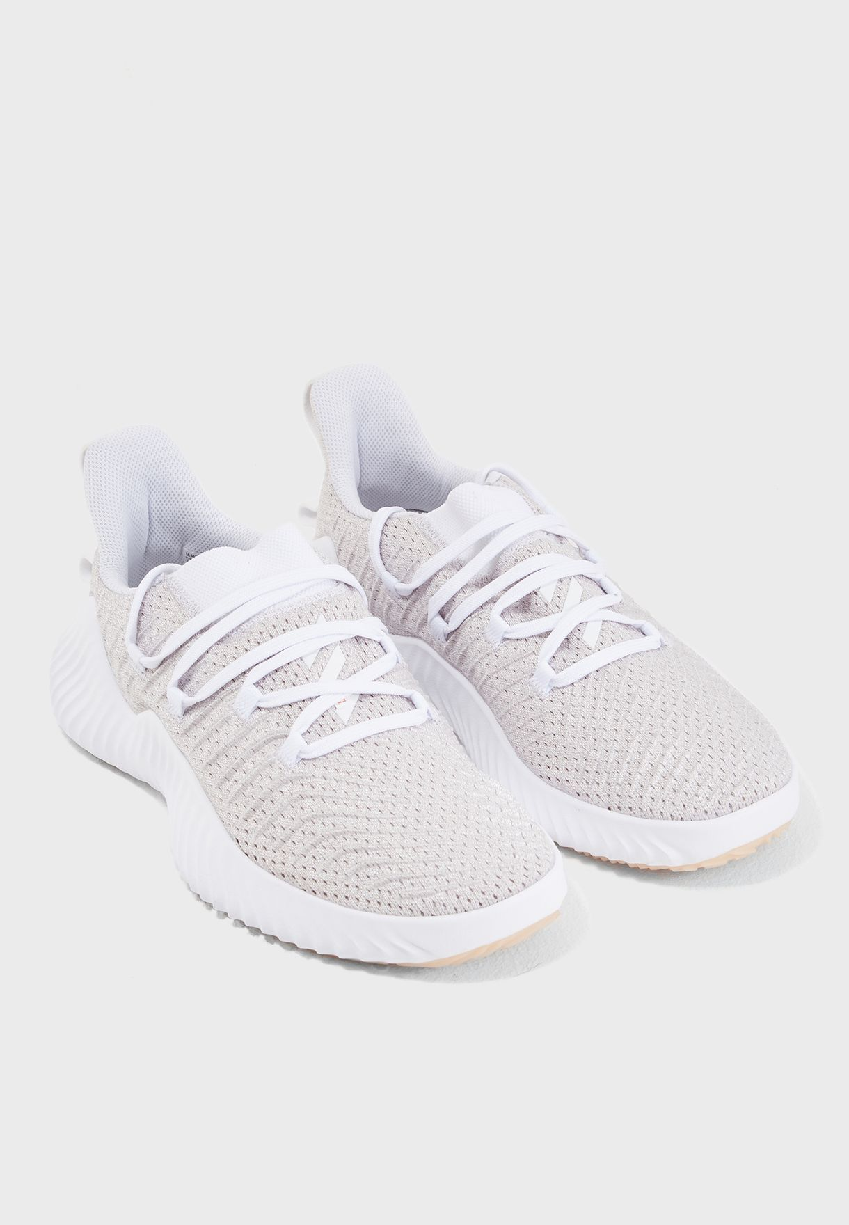 61218871c5245f Shop adidas beige Alphabounce Trainer B75780 for Women in UAE ...