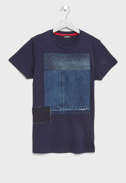 Teen Patched T-Shirt