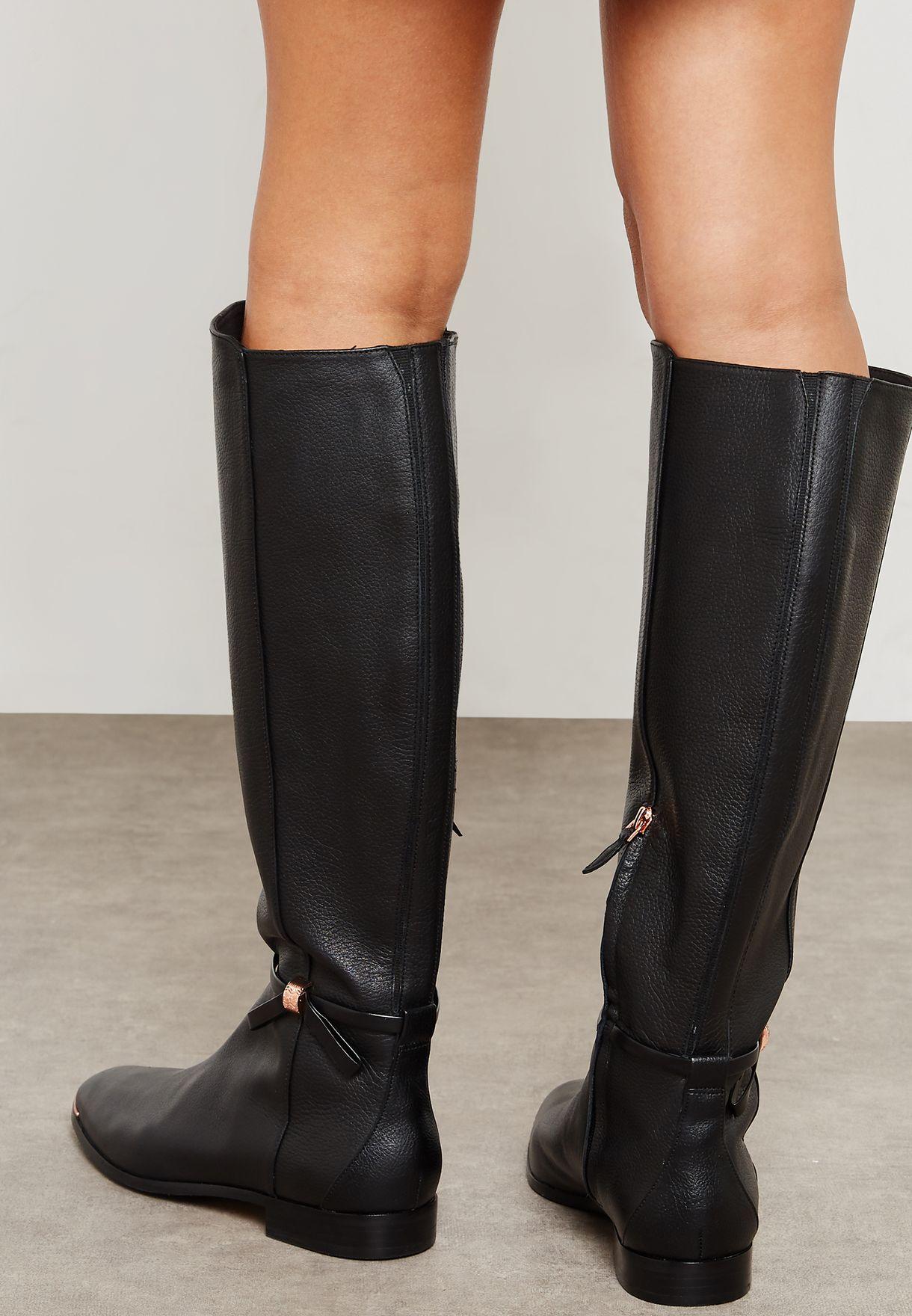 Buy Ted Baker black Lykla Knee Boot for