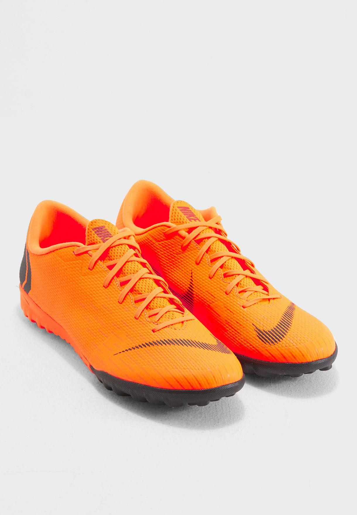 04cd51ae7b2 Shop Nike orange Mercurial Vaporx 12 Academy TF AH7384-810 for Men ...
