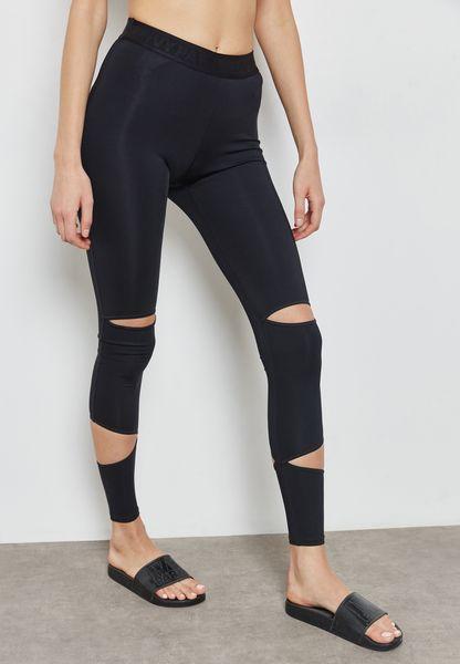 Slash Detail Legging