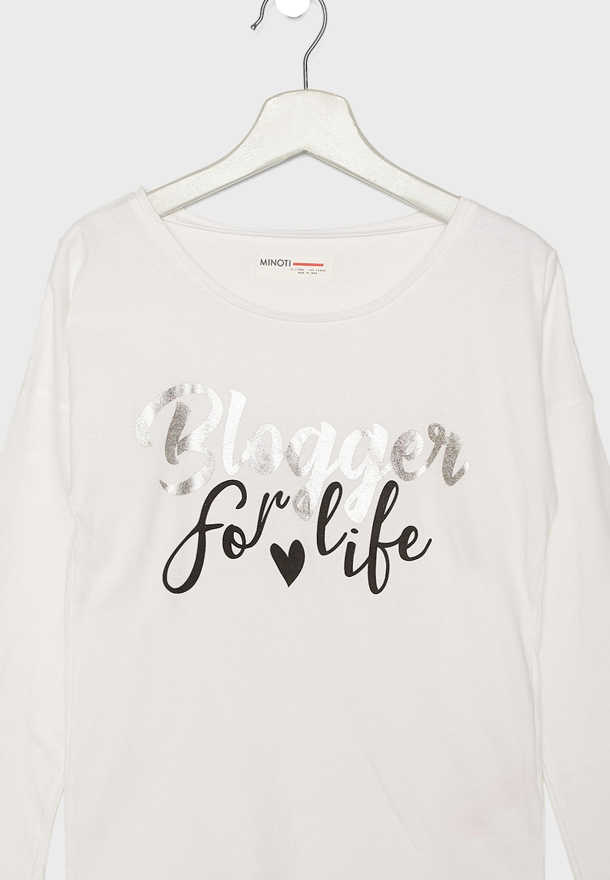 Teen Slogan T-Shirt