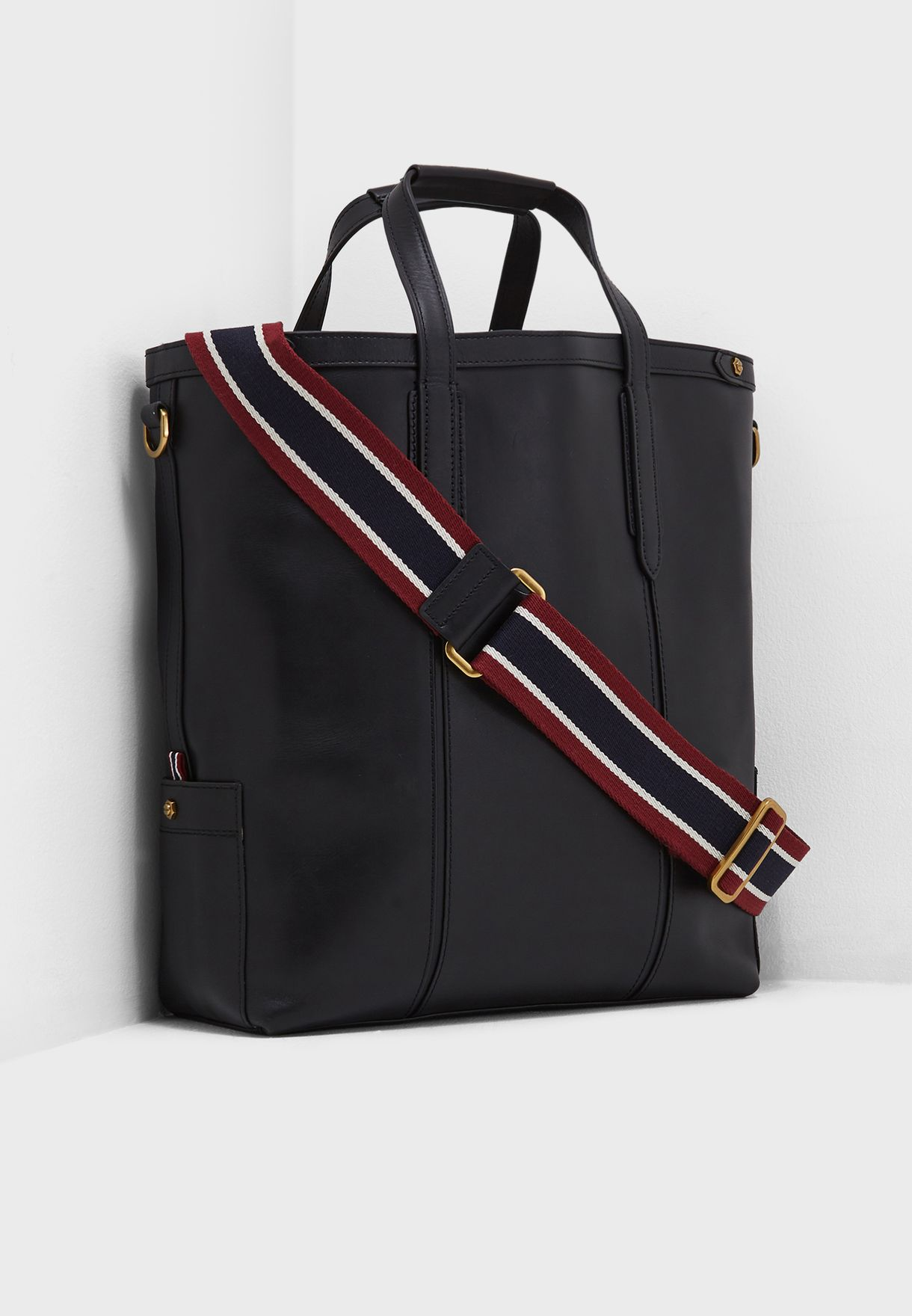 59093967a6 Shop J.Crew black Oar Stripe tote K0334 for Men in Globally ...