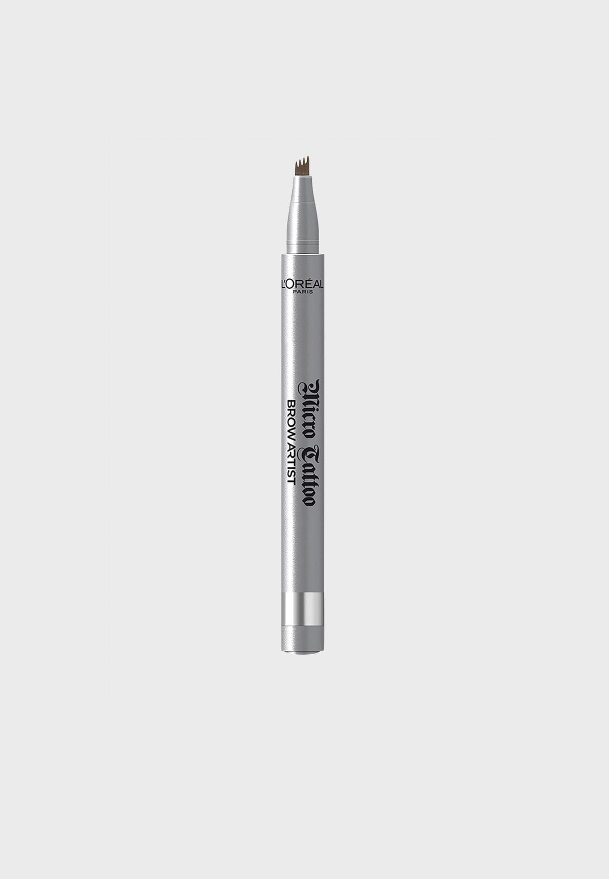 قلم حواجب برو ارتيست ميكرو تاتو 109