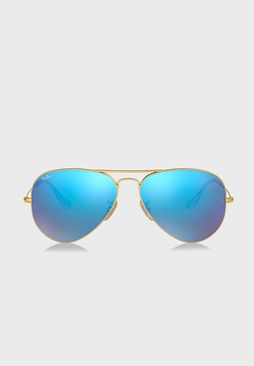 RB3025 Aviator Flash Lenses