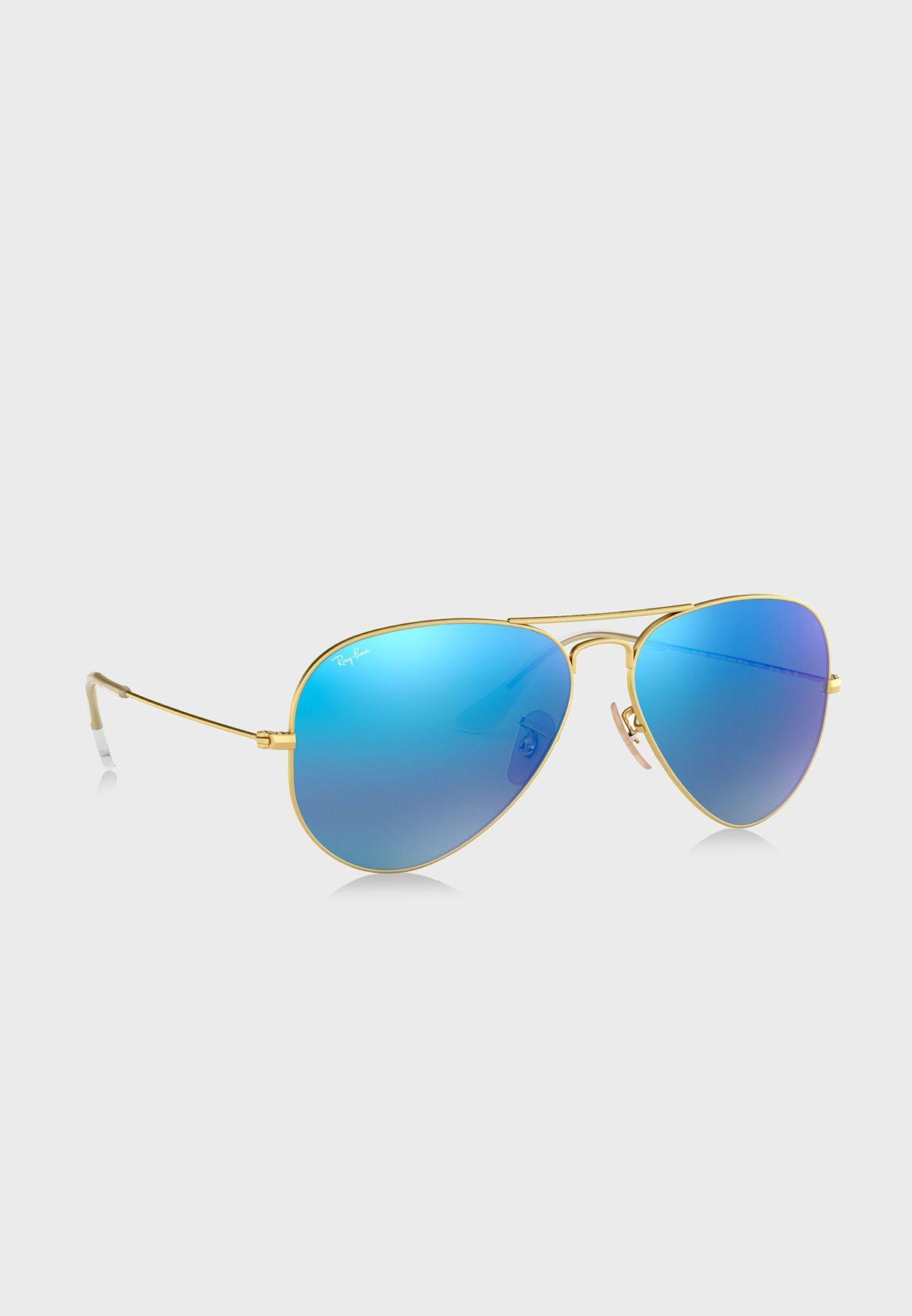 نظارة شمسية افياتور فلاش