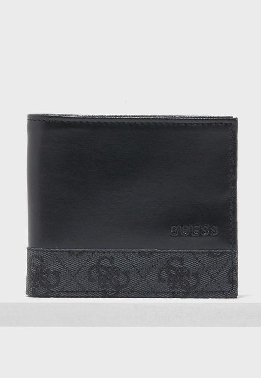 Flat Billfold  Window Wallet