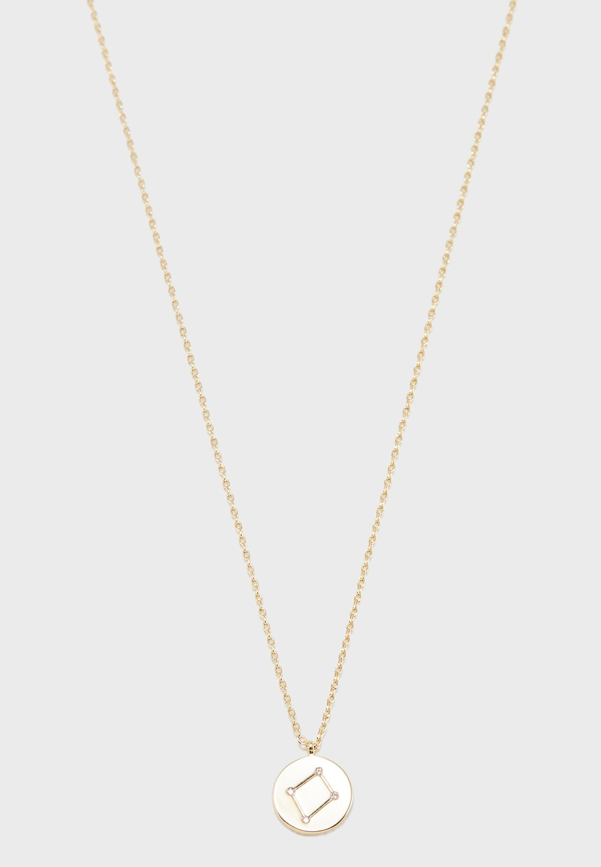 Gift Envelope Libra Constellation Necklace