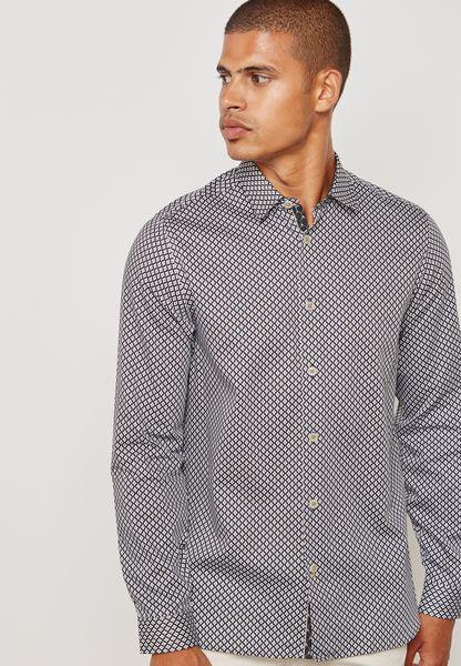 Skaree Geo Print Shirt