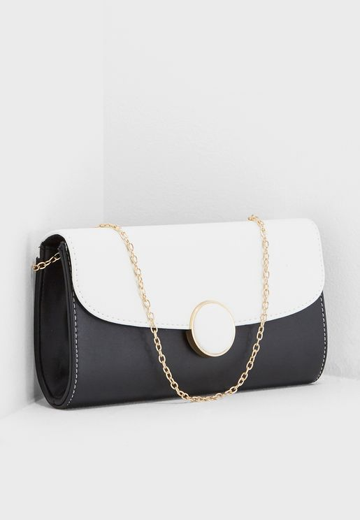 Clancy Circular Clutch