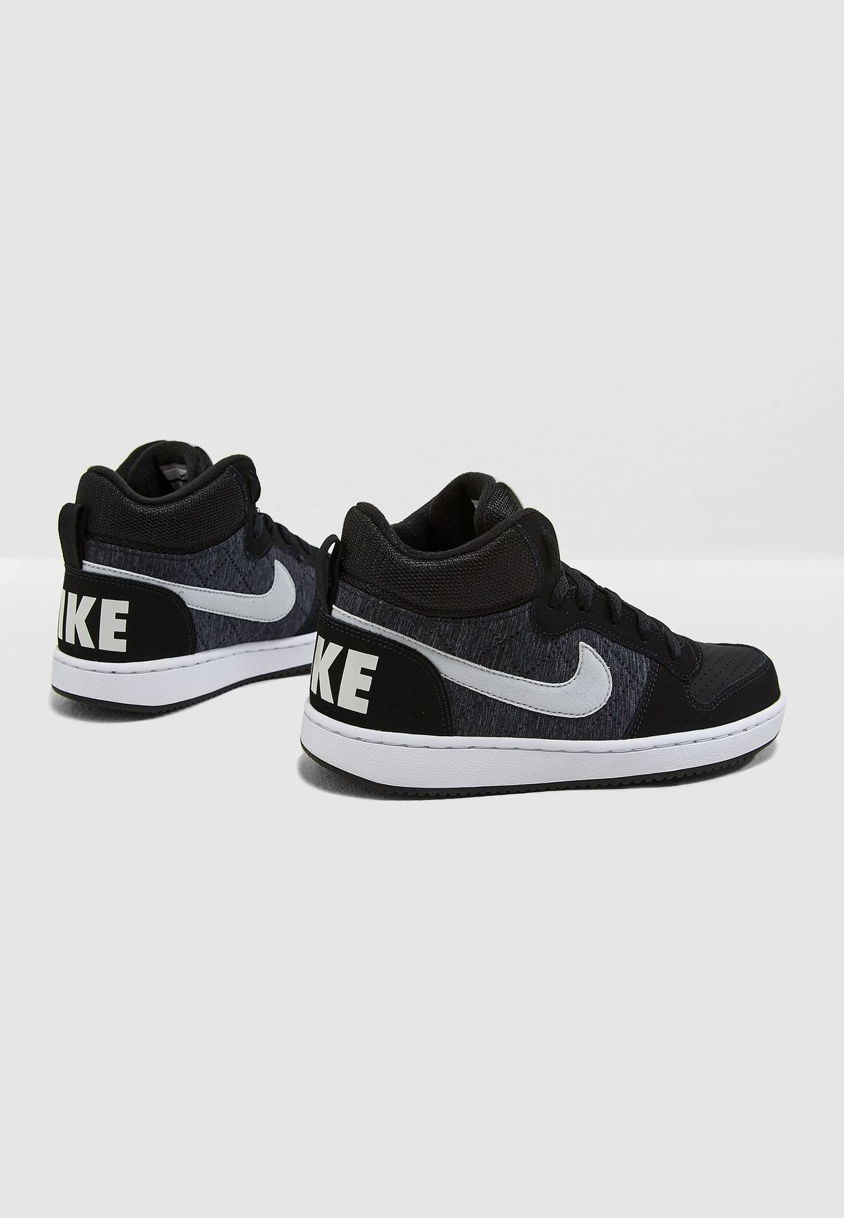 17490a4c397 Shop Nike black Youth Court Borough Mid SE 918340-007 for Kids in ...