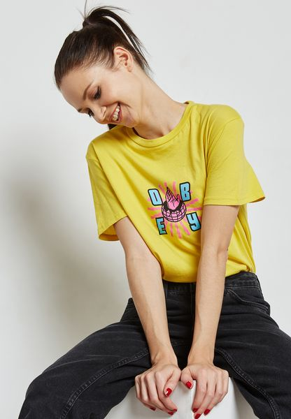 Printed Detail Logo T-Shirt