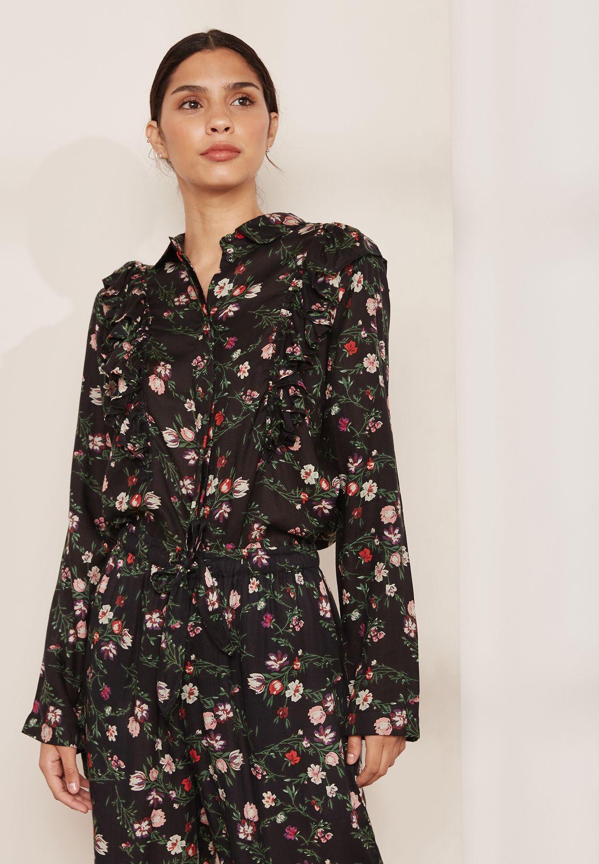 Fleurette  Pyjama Shirt