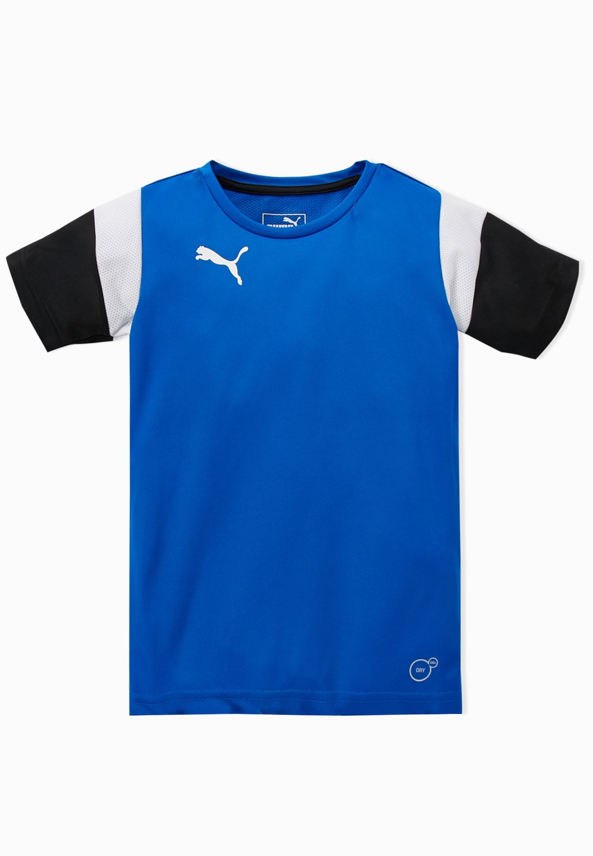Shop PUMA blue Kids Football T-Shirt 65514402 for Kids in Bahrain -  PU020AT41AAW c8c6c42ad