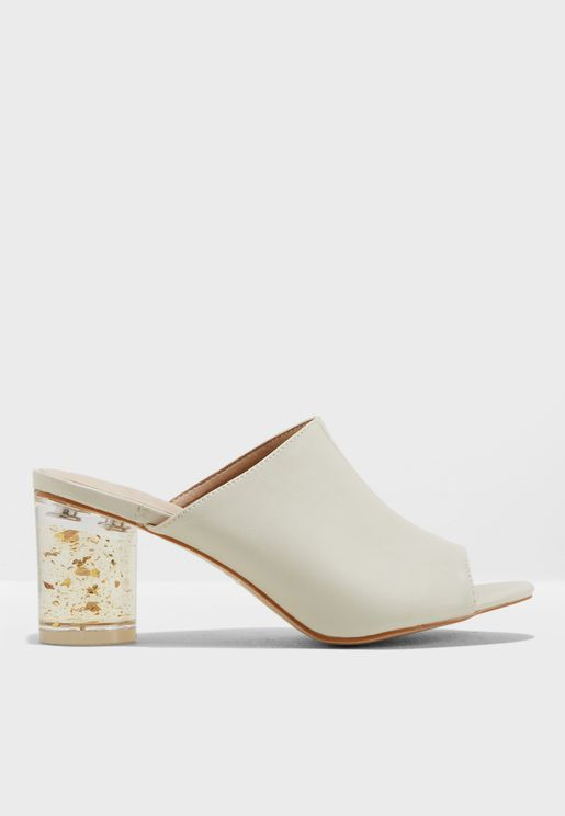 Skylar Block Heel Sandal