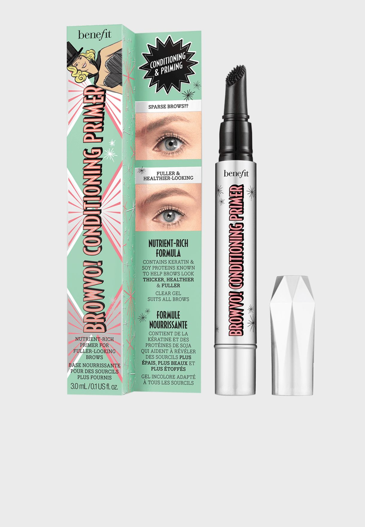 Mini Browvo Conditioning Eyebrow Primer