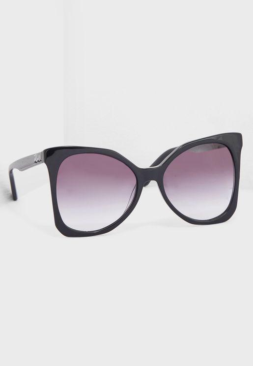 نظارة شمسية كبيرة بشكل فراشة KL967S
