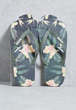 Printed Casual Flip Flops