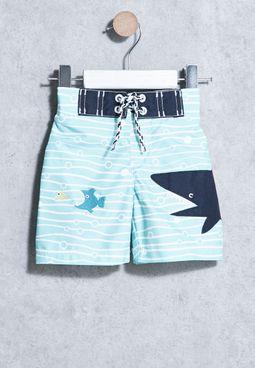 Infant Shark Swim Shorts