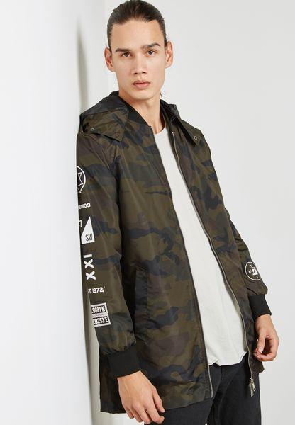Keanan Printed Jacket