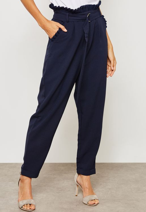 Pleat Detail Trouser