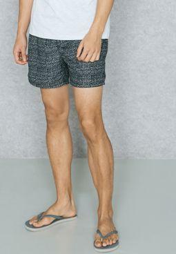 Fibre Print Swim Shorts