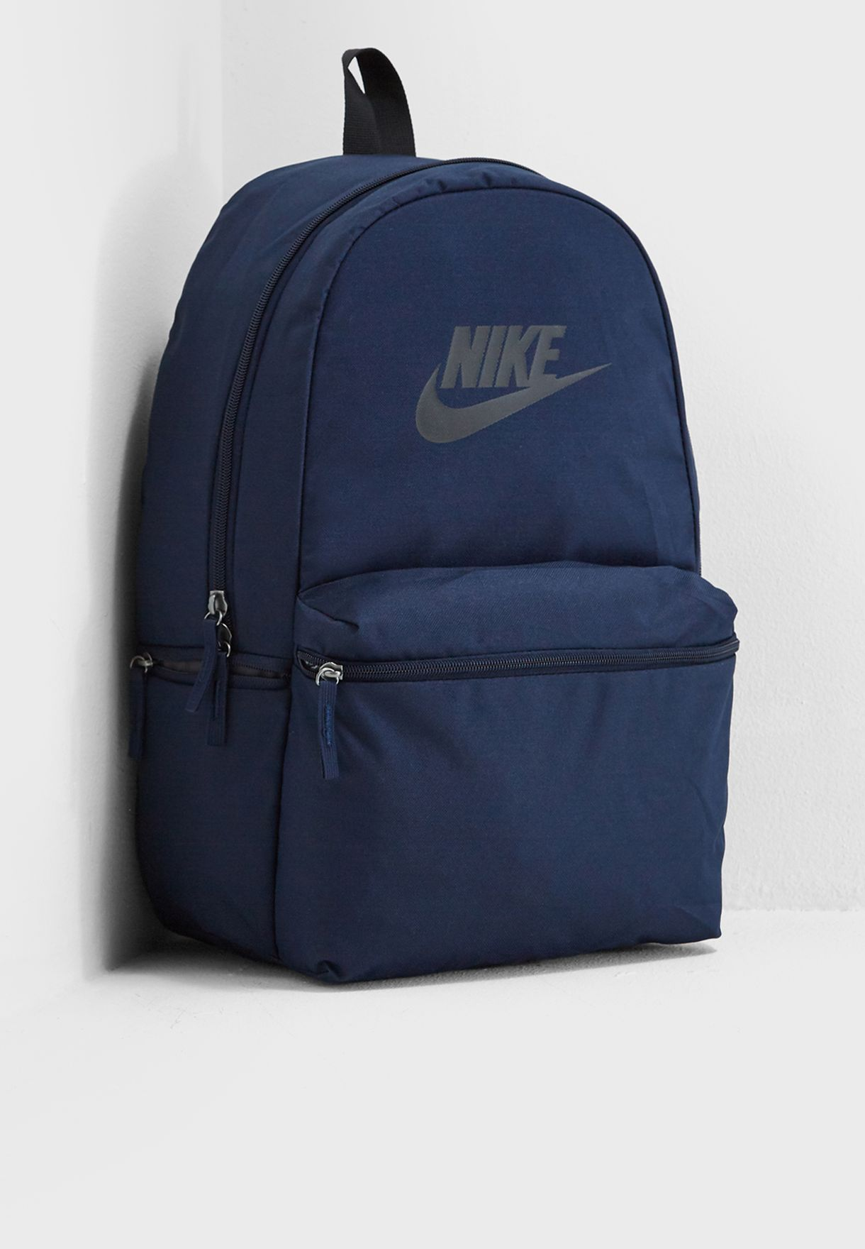 Shop Nike navy Heritage Backpack BA5749-451 for Men in UAE ... 57a2002bf429