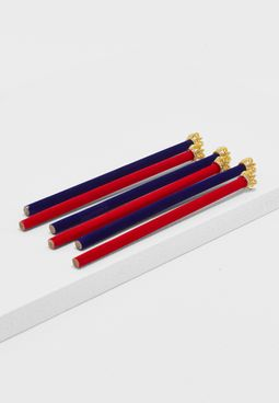 Six Pack King Crown Pencil