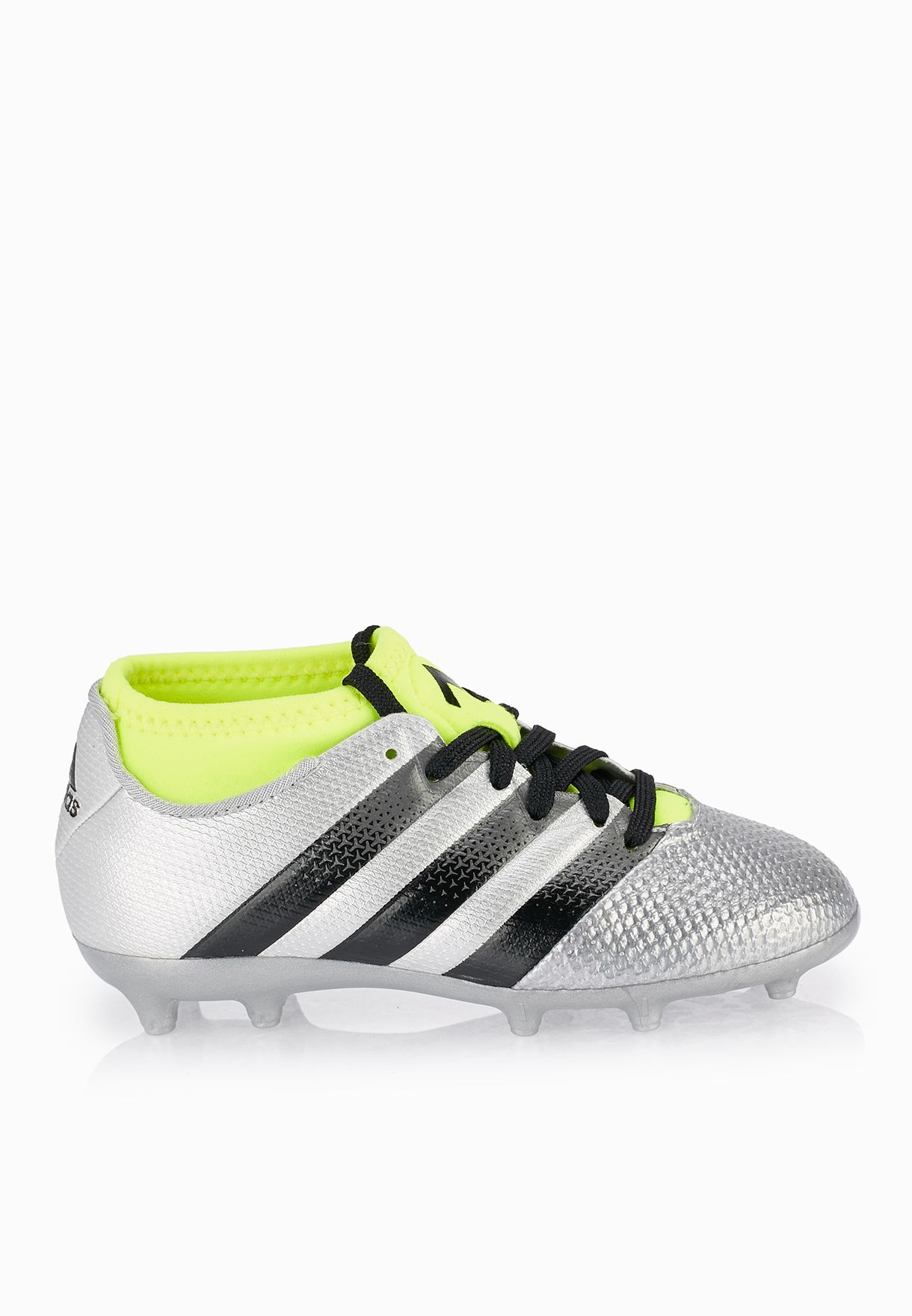 d8c571d9f Shop adidas grey Ace 16.3 Primemesh FG Kids AQ3443 for Kids in UAE ...
