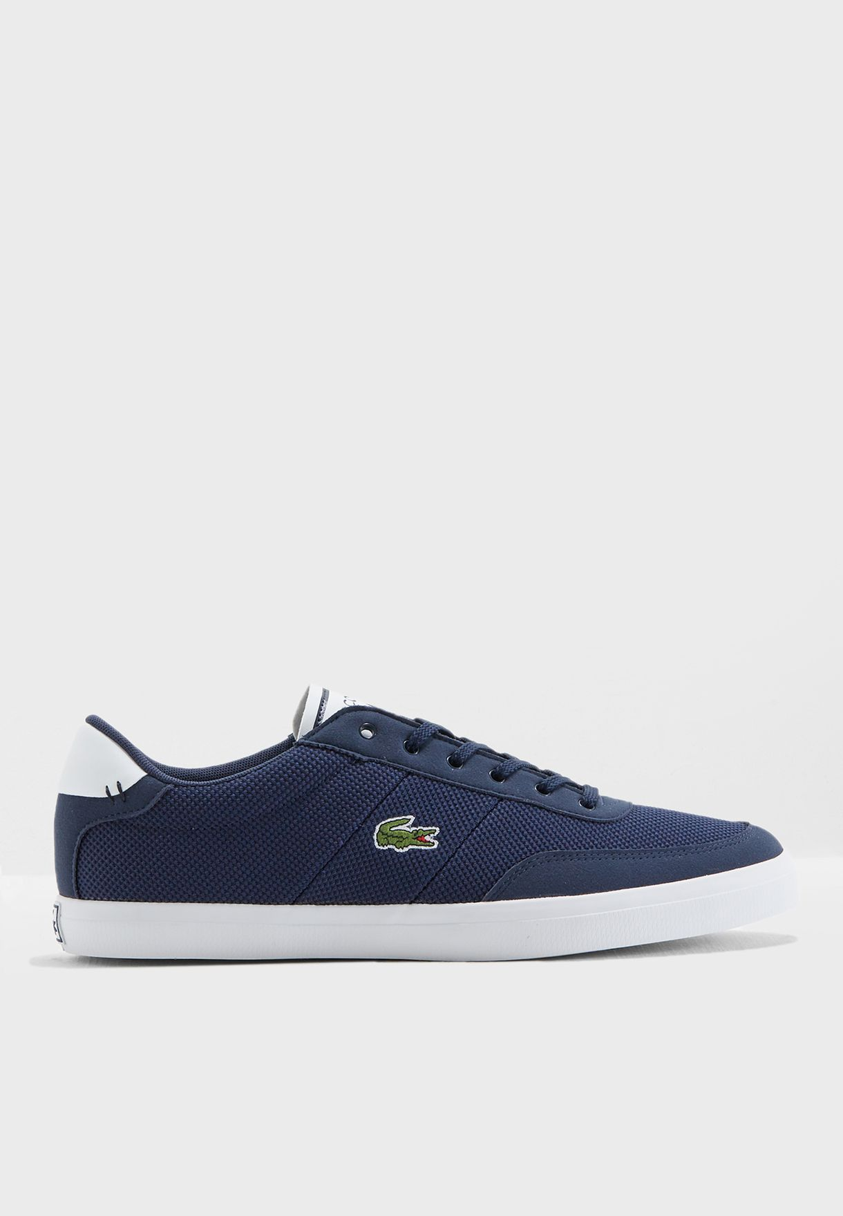 c10131a4b18c50 Shop Lacoste navy Court-Master Sneakers 735CAM0015-092 for Men in ...