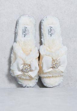 SWAROVSKI Studded Slipper