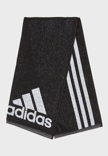 Logo 3 Stripe Towel