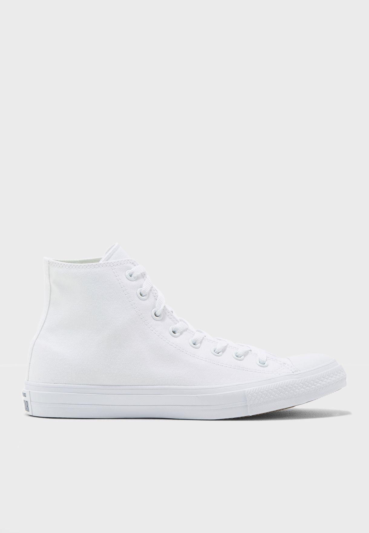 1909589469fec1 Shop Converse white Chuck Taylor All Star II Evergreen 150148C-100 ...