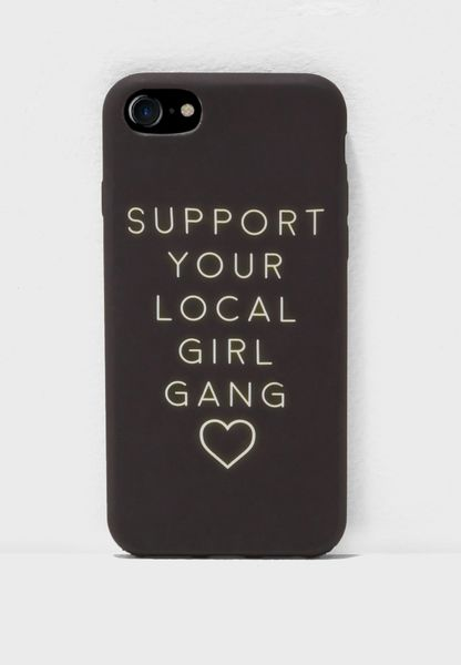 Support Your Local Girl Gang iphone 7/8 Case