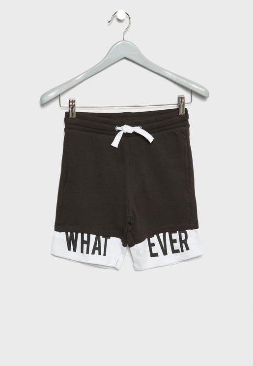 Whatever Tie Waist Shorts