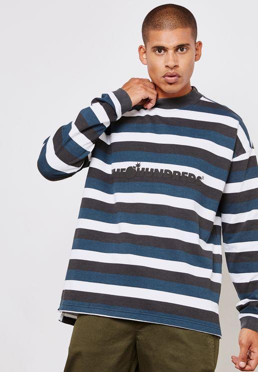 Park Striped Sweatshirt