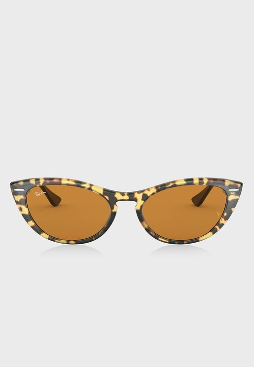 0RB4314N Clubmaster Sunglasses