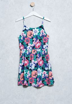 Youth Floral Dress