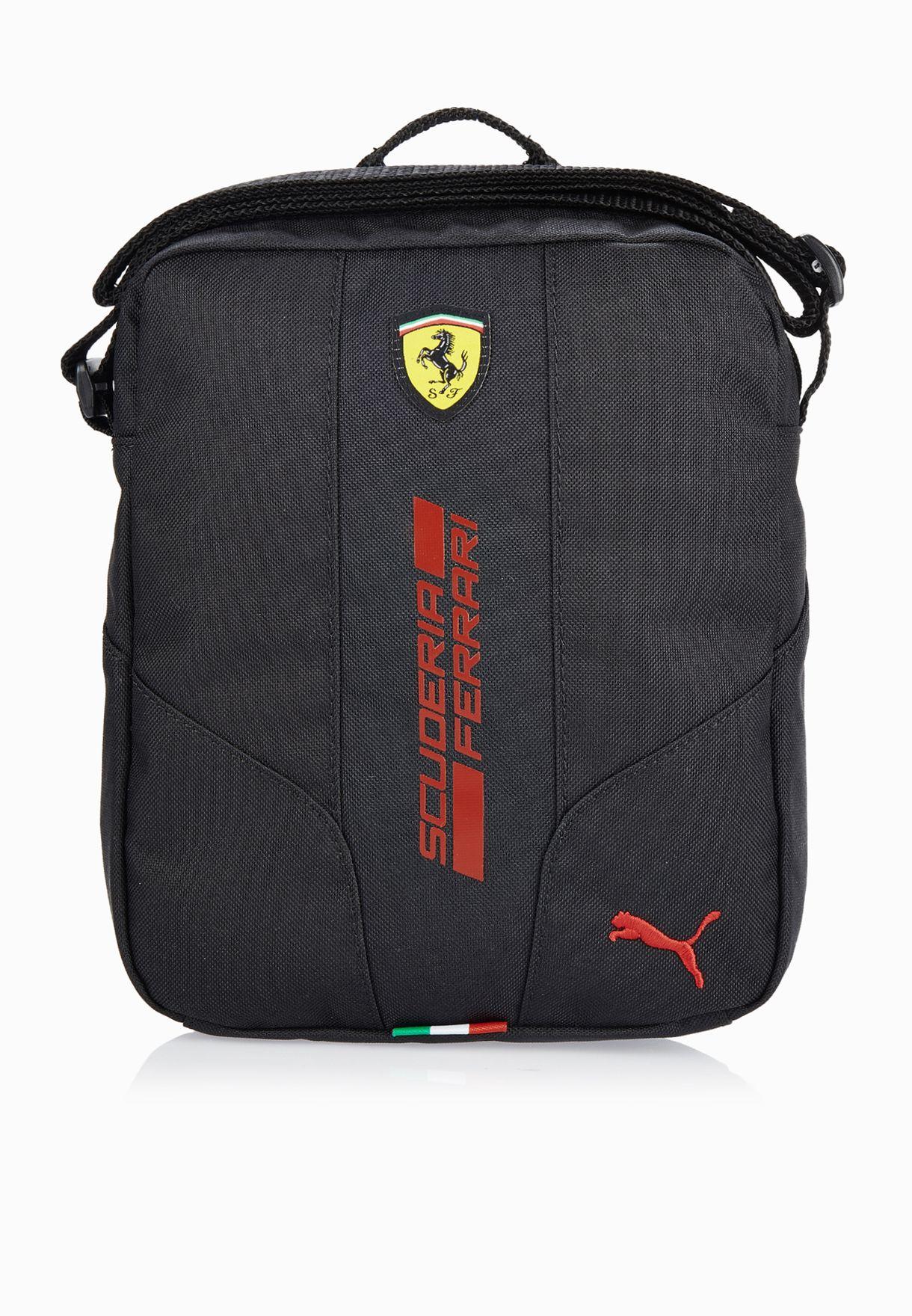 Shop PUMA black Ferrari Fanwear Messenger 07395802 for Men in Oman -  PU020AC41ZNM adace8170f315