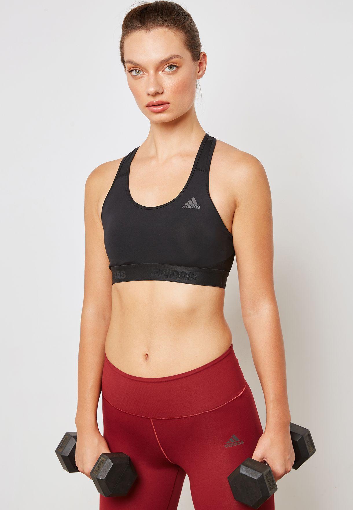 741c97e8d7 Shop adidas black Alphaskin Sports Bra CD9718 for Women in Qatar -  AD476AT41KKO