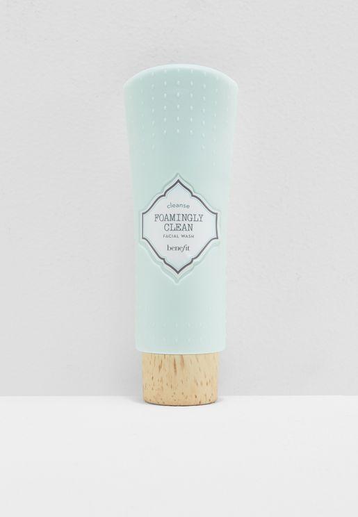 Foamingly Clean Facial Wash